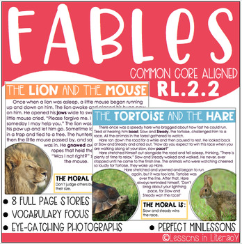 Fables {RL.2.2}
