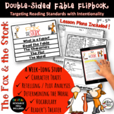 Fables 3rd Grade 4th Grade The Fox & the Stork RL3.2 RL3.3