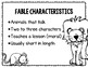 Fables--A Reading Response Journal for K-2