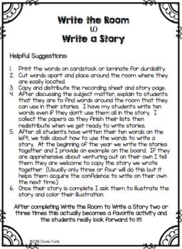 Fables Activities The Lion and the Mouse Emergent Reader and Writing