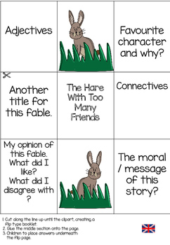 Fable Writing