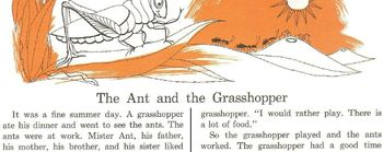 Fables: Ant and Grasshopper; The Fly and Ants Read Comprehension Strategy 2 - $1