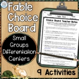 Fables Choice Board