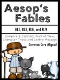 Fables {Common Core Aligned} Compare & Contrast, Central M
