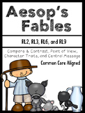 Fables {Common Core Aligned} Compare & Contrast, Central M