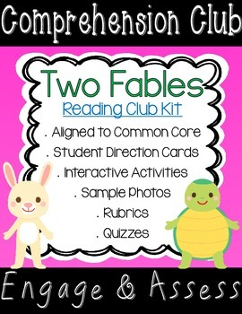 Fables Comprehension Club Kit for Interactive Reading Notebooks