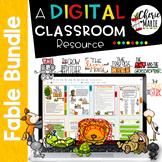 Fables Digital Classroom BUNDLE: RL3.2 RL3.3 RL3.6 RL4.2 RL4.3