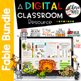 Fables Digital Classroom BUNDLE: RL3.2 RL3.3 RL3.6 RL4.2 RL4.3