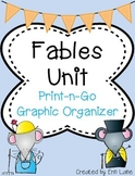 Fables Unit: Fable Graphic Organizer