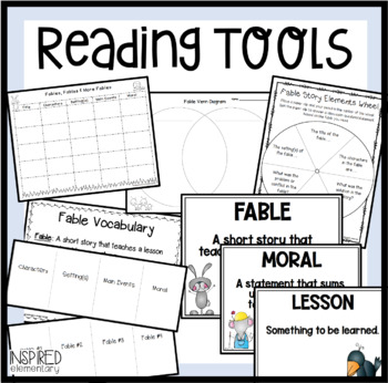 Fables Unit: Teaching Tools and Activity Pack!