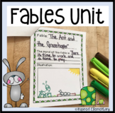 Fables Anchor Chart and Activities Mini Unit
