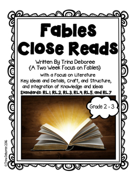 Fables for Second and Third Grade