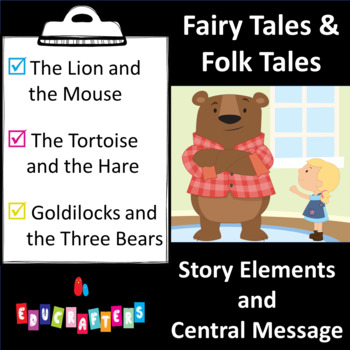 Fables & Folk Tales [Story Elements & Central Message] Reading Unit of Study