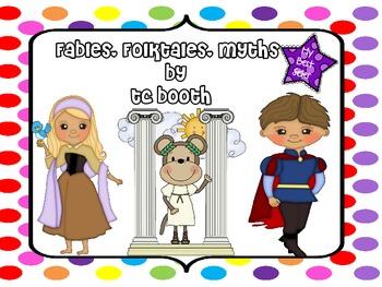 Fables Folktale Myth Unit