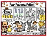 Fables:  Four Fantastic Fractured Fables w/Comprehension Q