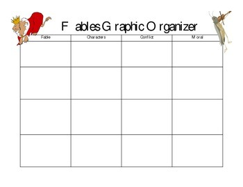 Fables Graphic Organizer