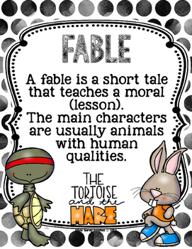 Fables Graphic Organizers
