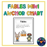 Fables Mini Anchor Chart