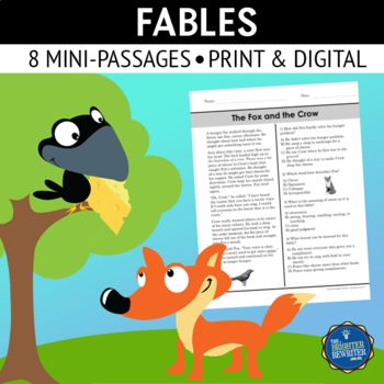 Fables Short Reading Passages