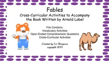 Fables Mini Unit