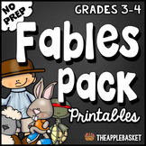 Fables Pack for Third and Fourth Graders