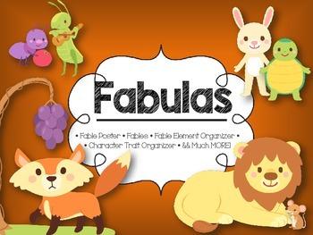 Fables Pack in Spanish * Paquete de Fabulas en Espanol