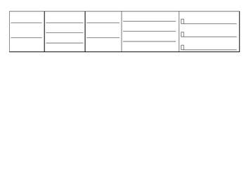 Fables Process Grid