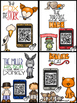 Fables :  QR Code Listening Center Cards AND Response Sheets