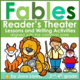 Fables (Reader's Theatre, Lessons and Writing Activities) Common Core aligned