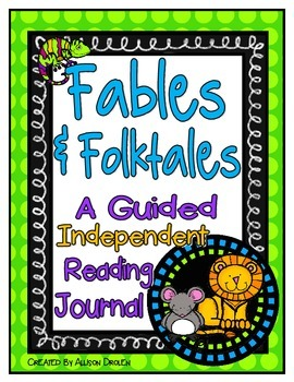 Fables Reading Journal