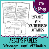 Fables Reading Passages and Comprehension Activities