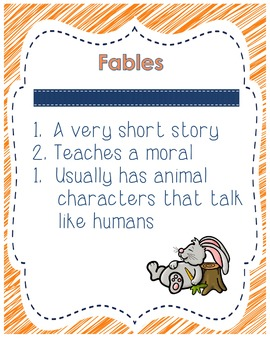 Fables Resource Packet