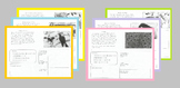 Fables- Short Reading Passages & Element Organizer Workshe