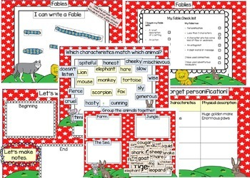 Fables Smart Board Resource