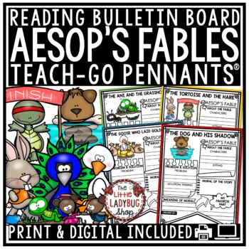 Aesop's Fables Unit Posters • Teach- Go Pennants™