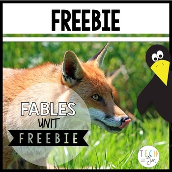 Fables Unit: Animals and Their Stories Freebie