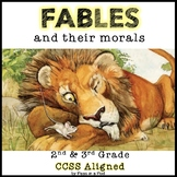 Fables RL 3.2 & RL 2.2 Aesop's Fable The Tortoise and the Hare +