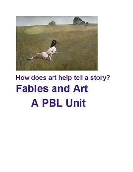 Fables and Art: A PBL creative writing unit that deepens d