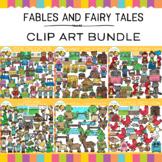 Fables and Fairy Tales Clip Art  Bundle { Reading Clip Art }
