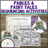 Fables and Fairy Tales Sequencing Activities