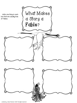 Fables and Fairy Tales  The Moral of the Story 2nd and 3rd Grade