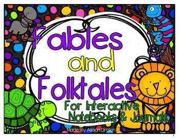 Fables and Folktale Lapbook