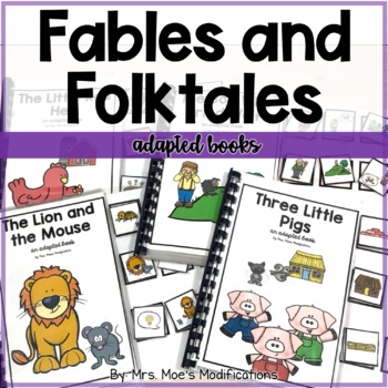 Fables and Folktales Adapted Books Bundle