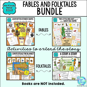 Fables and Folktales BUNDLE of Book Units