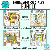 Read Aloud Interactive Book Activities: Fables and Folktales BUNDLE