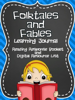 Fables and Folktales Learning Journal- Booklet and Digital Resource Pack