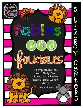 Fables and Folktales Literacy Centers