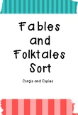 Fables and Folktales Sort