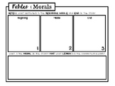 Fables and Morals Worksheet