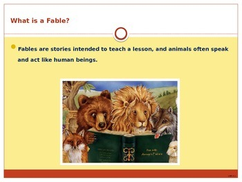 Fables discussion ppt